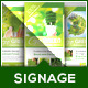 Renewable Energy - Go Green - Roll-Up Banner - GraphicRiver Item for Sale