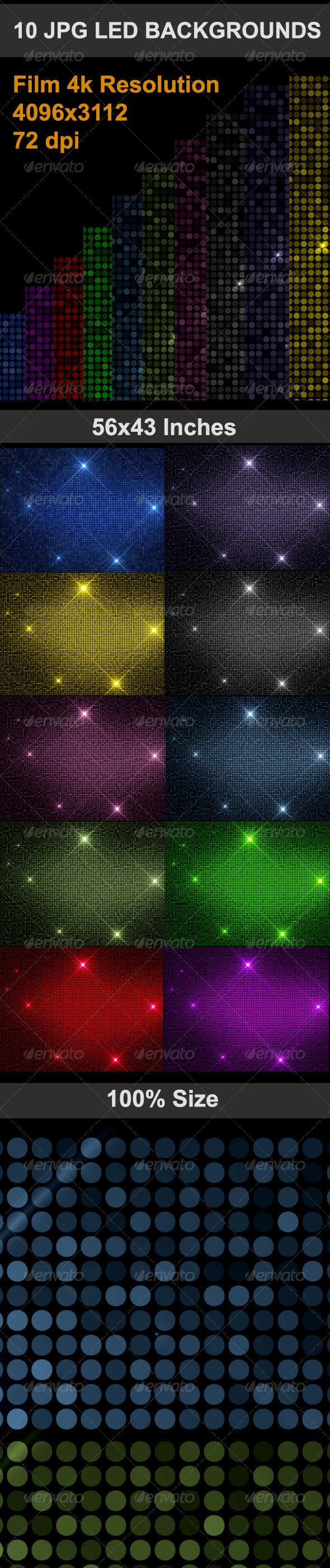 GraphicRiver LED Background 5119756