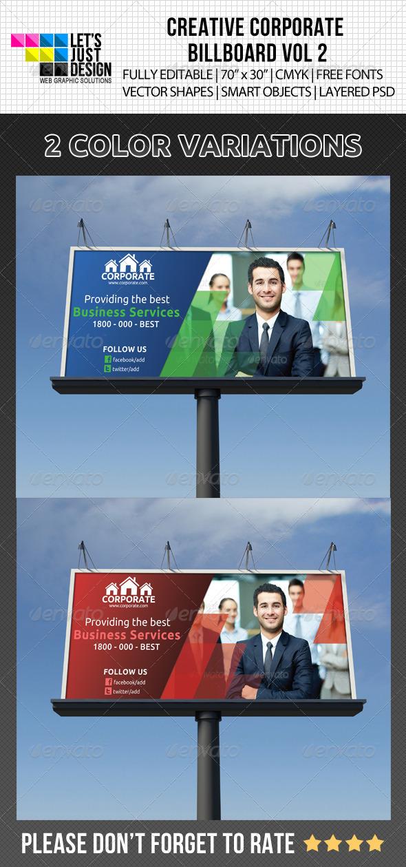 GraphicRiver Creative Corporate Billboard Vol 2 5119762