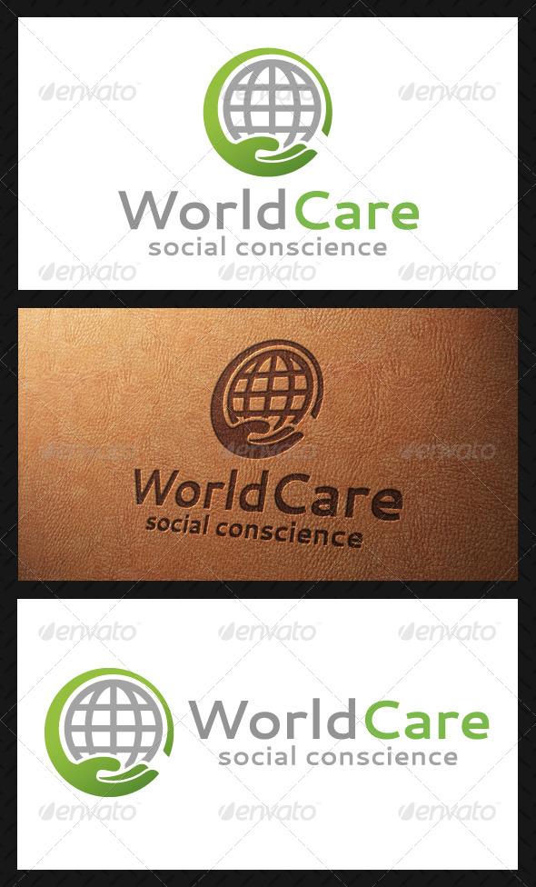 GraphicRiver World Care Logo Template 5120733