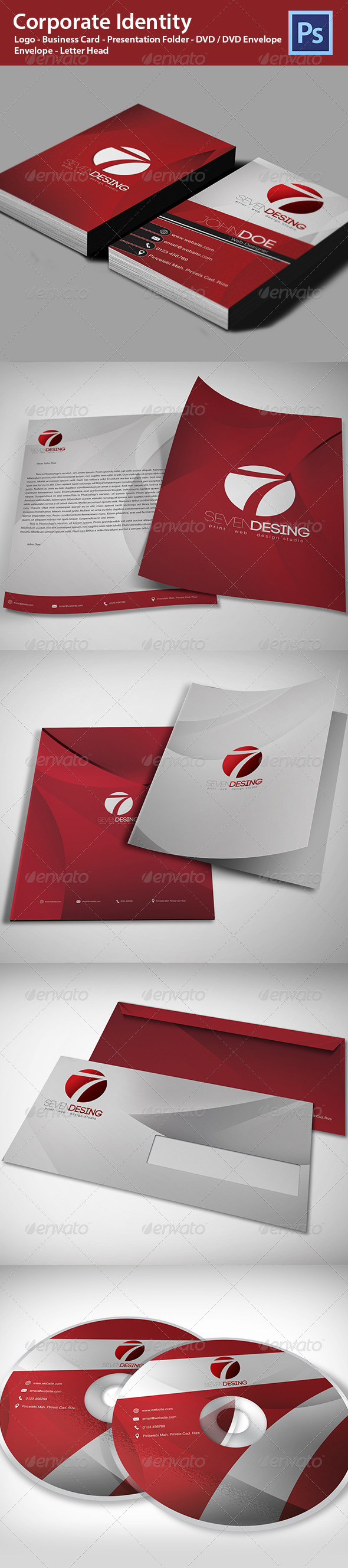 GraphicRiver Corporate Identity 4754098