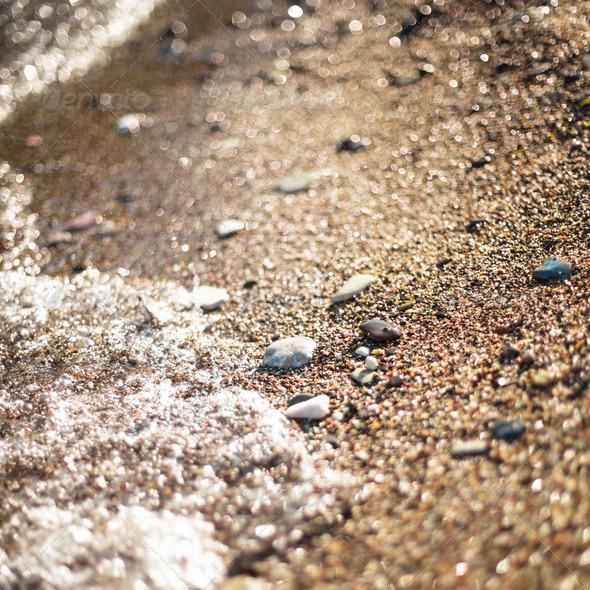 sea shore - Stock Photo - Images