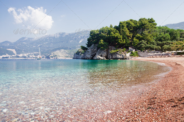 Adriatic seashore - Stock Photo - Images