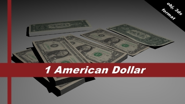 3DOcean 1 dollar bill 5122124