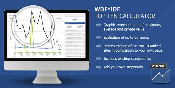 CodeCanyon Wordpress WDF*IDF SEO Calculator 5122990