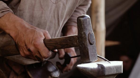 Blacksmith At Work 1