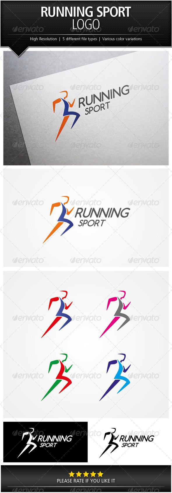 GraphicRiver Running Sport Logo Template 5067256