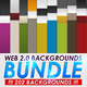 Web 2.0 Backgrounds Bundle