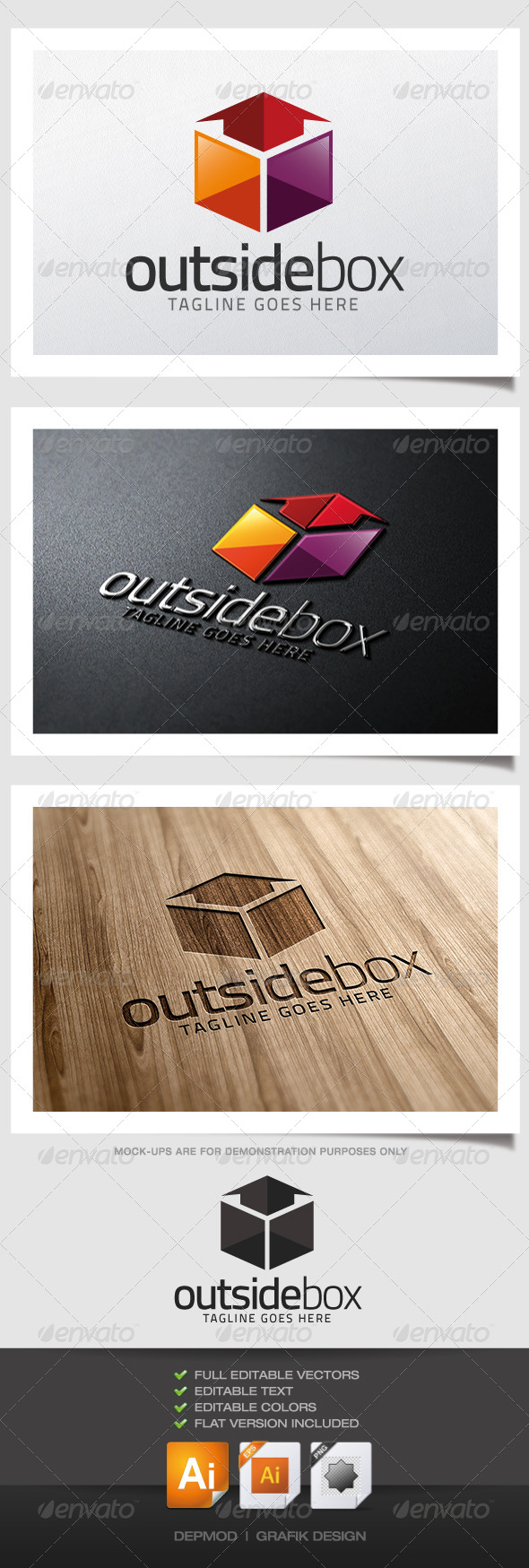 GraphicRiver Outside Box Logo 5123670