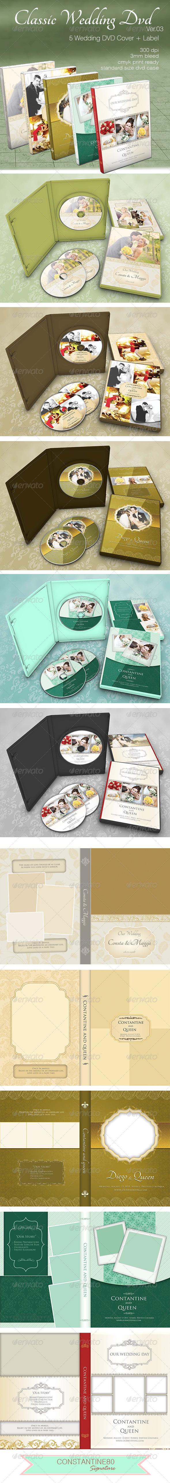 GraphicRiver Classic Wedding Dvd ver03 5124864
