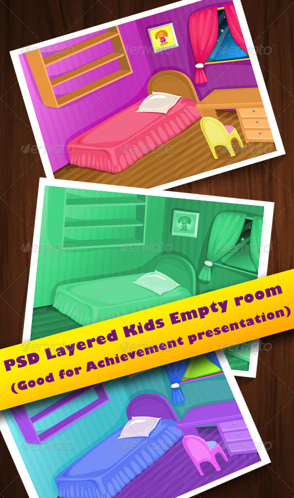 GraphicRiver Kids Empty Room 5108848