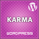 Karma - Clean and Modern Wordpress Theme