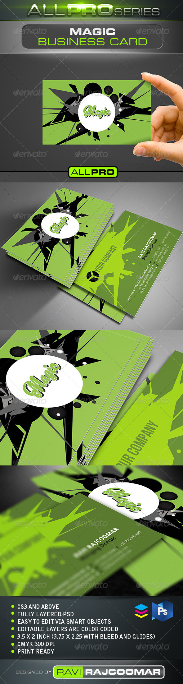 GraphicRiver Magic Business Card 5125897