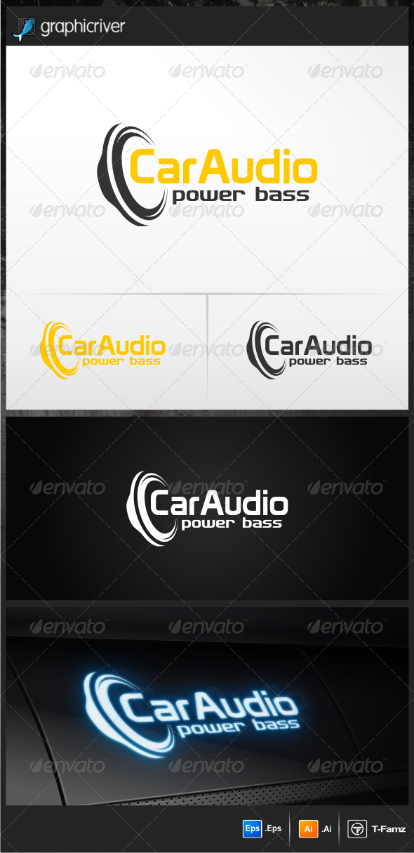 Car Audio Logo Templates