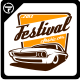 Festival Classic Car Logo Templates - GraphicRiver Item for Sale