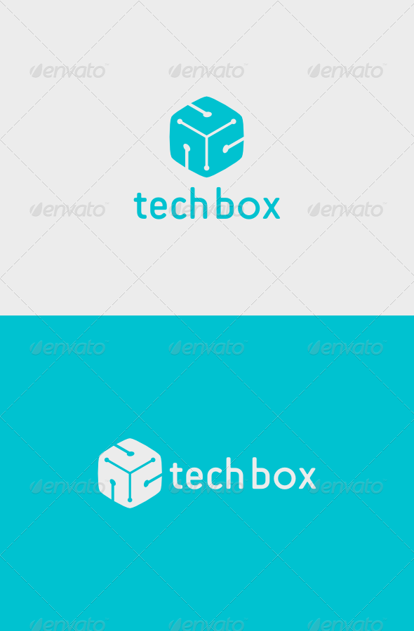 GraphicRiver Tech Box Logo 5121913
