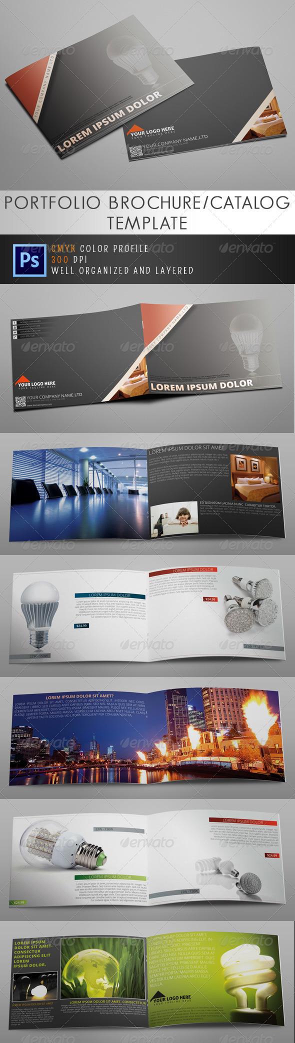 GraphicRiver Energy Brochure Catalog 5126444