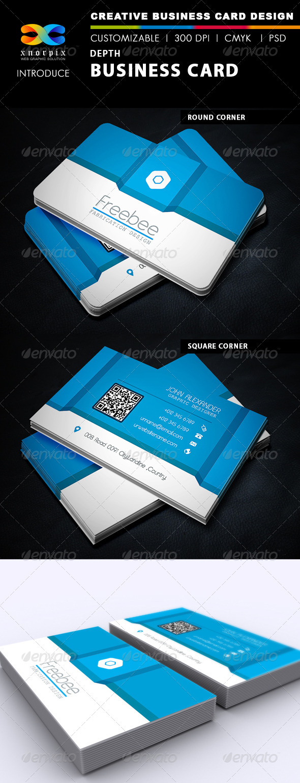 GraphicRiver Depth Business Card 5126513