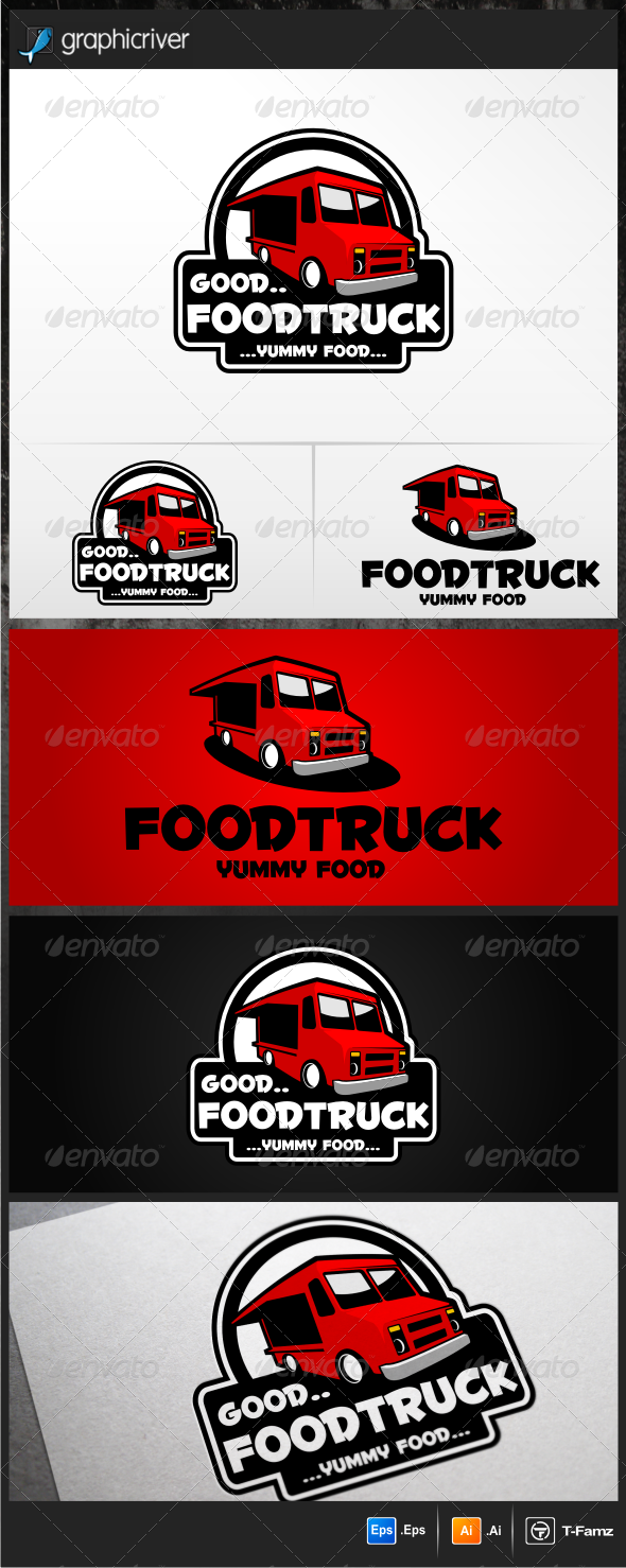 Food Truck Logo Templates - Objects Logo Templates