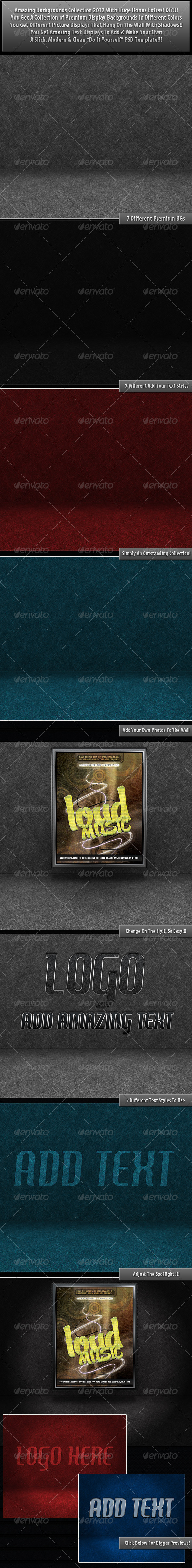 GraphicRiver Add Your Designs Backgrounds 2012 527093