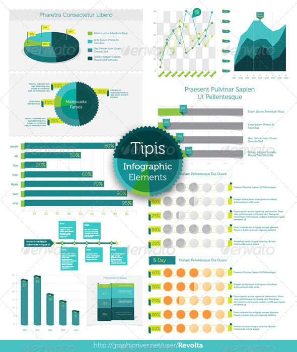 GraphicRiver Tipis Infographic Elements 5048024