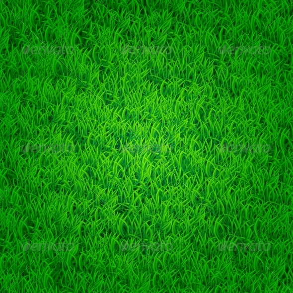 Green Grass Background - Backgrounds Decorative