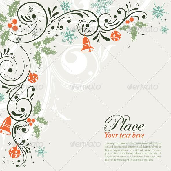 GraphicRiver Christmas Frame 527314
