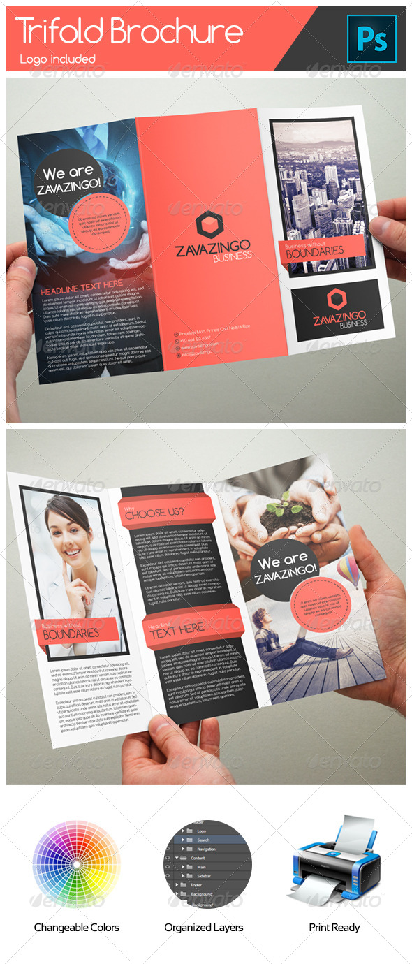 GraphicRiver Business Trifold Brochure 5128134