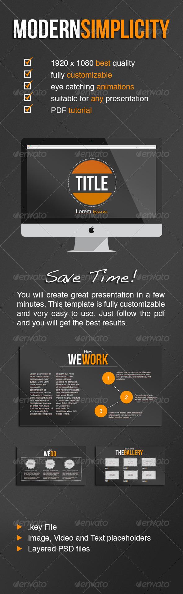 GraphicRiver Modern Simplicity 5128210