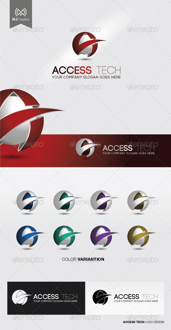 GraphicRiver Access Tech Logo 5115233