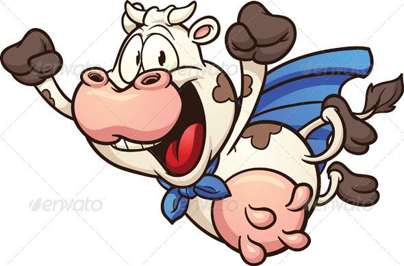 GraphicRiver Super Cow 5128430