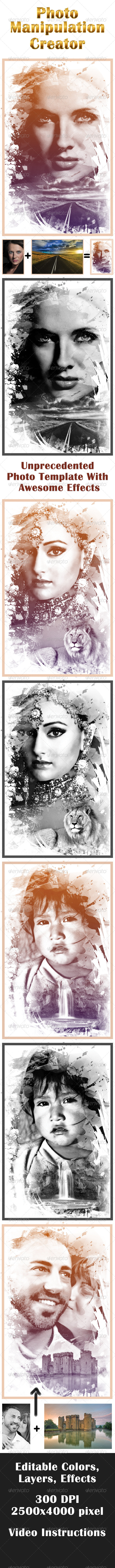 Photo Manipulation Creator - Artistic Photo Templates