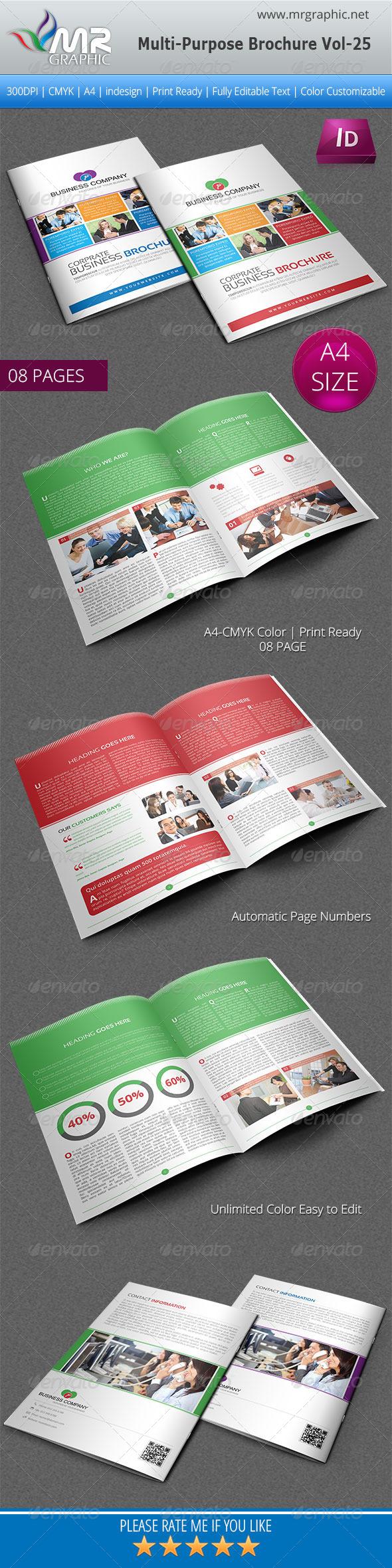 GraphicRiver Multipurpose Business Brochure Template Vol-25 5074968