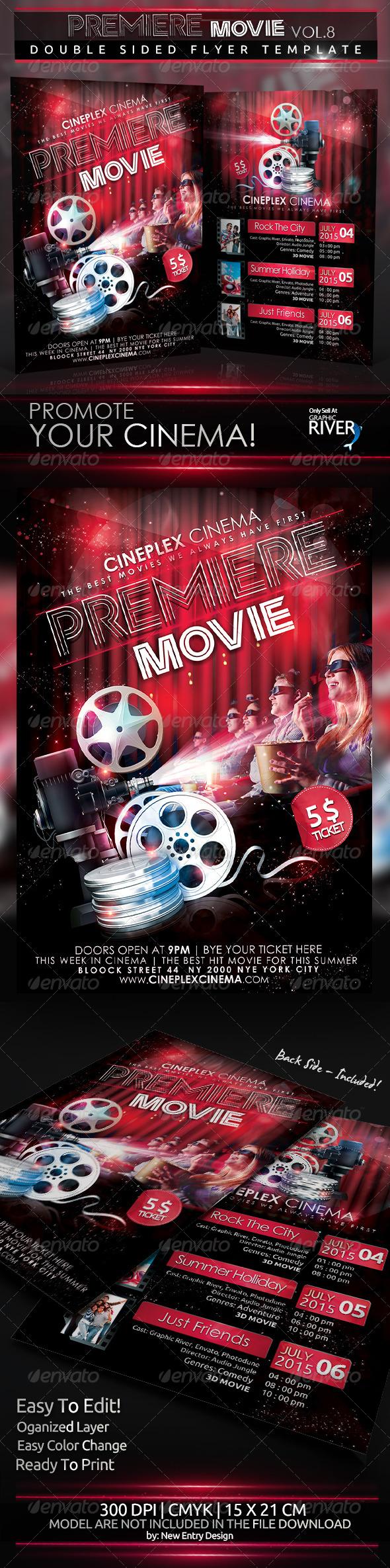 GraphicRiver Premiere Movie Vol8 5074830