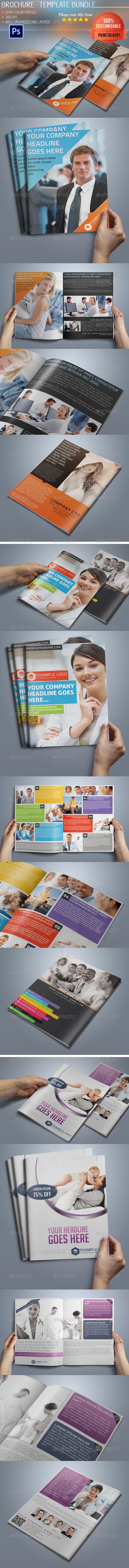 GraphicRiver Multipurpose Bi-Fold Business Brochure Bundle 01 5130271