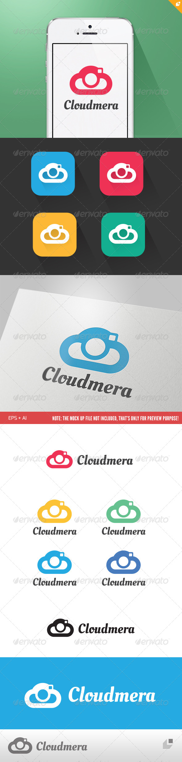 GraphicRiver Cloud Mera 5130339