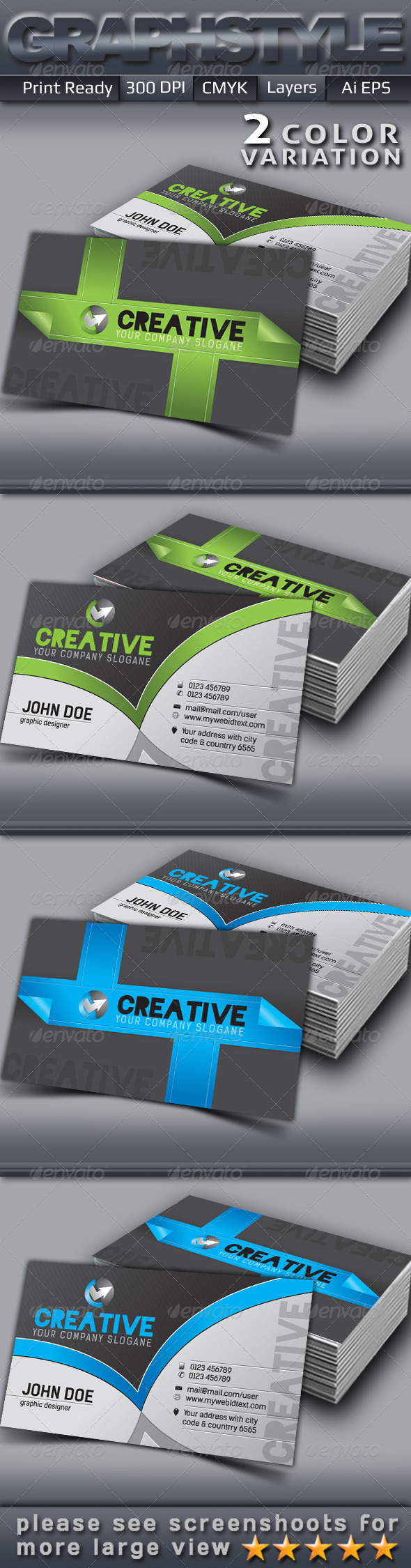 GraphicRiver Creative Business Card 5063652