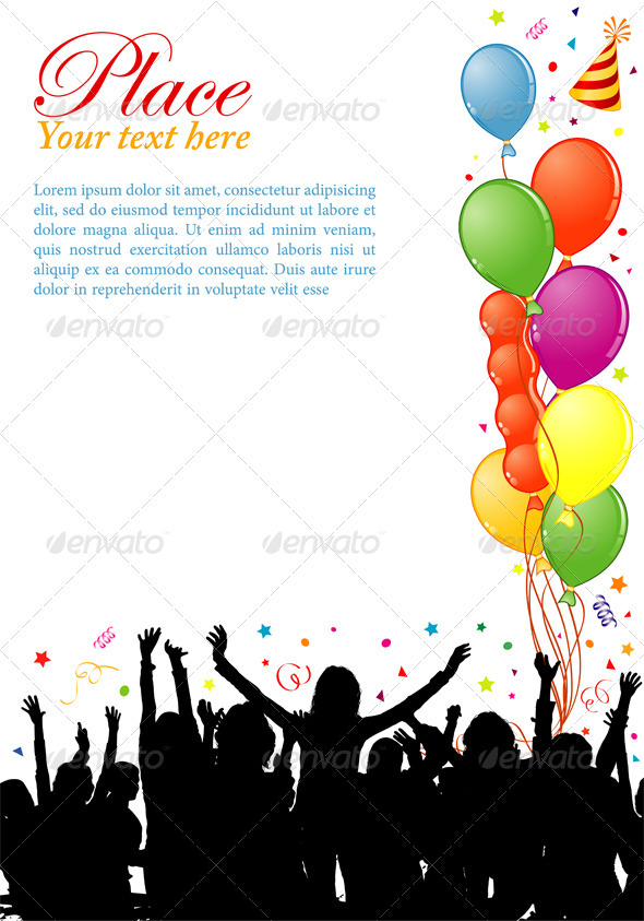 GraphicRiver Party frame 527564