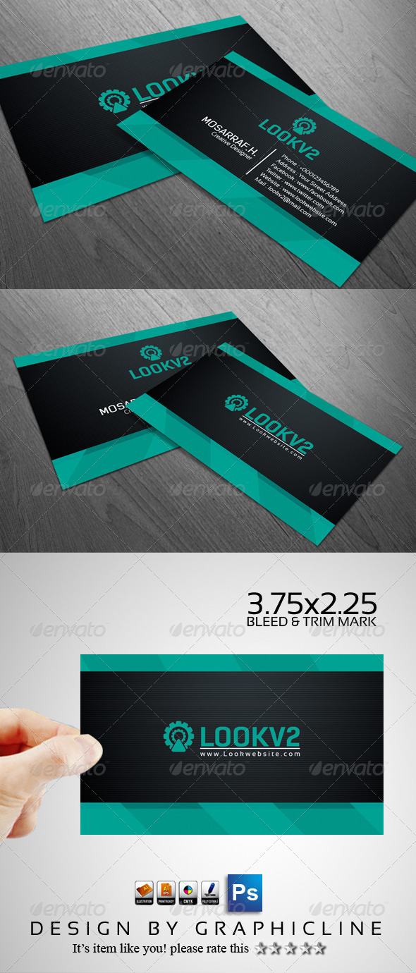 GraphicRiver Seba Creative Business Card Design 5063635