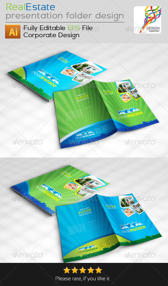 GraphicRiver Real Estate Presentation Folder Design 4941878
