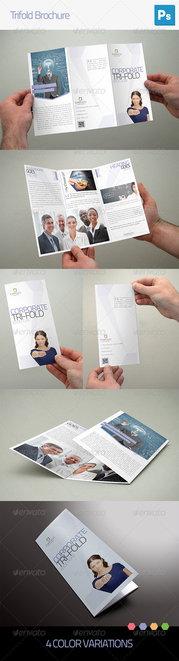 GraphicRiver Trifold Brochure 5069455