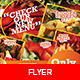 Fast Food Flyers / Magazine Ads - GraphicRiver Item for Sale