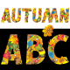 Autumn Alphabet Set Letters A - Z and 4 Buzzwords - GraphicRiver Item for Sale