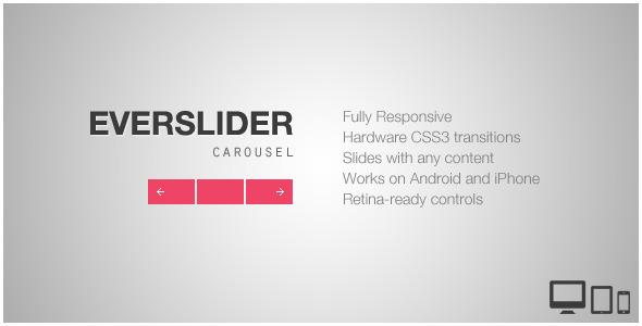 CodeCanyon Everslider Responsive jQuery Carousel Plugin 5132868