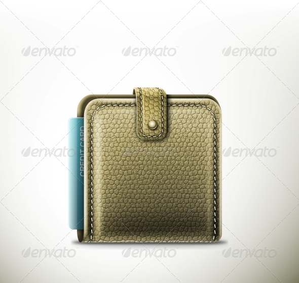 GraphicRiver Leather Wallet 5133409