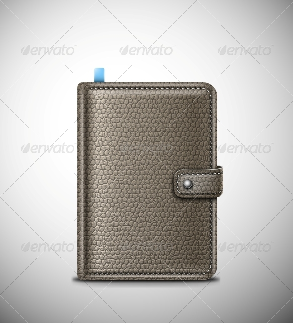 GraphicRiver Leather Notebook 5133420