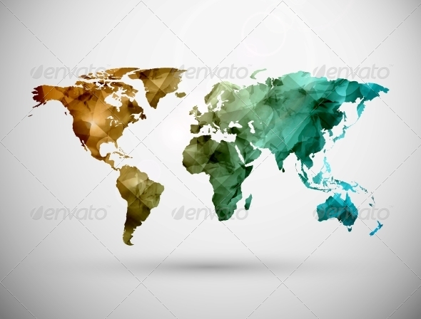 GraphicRiver World Map 5133456