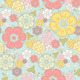 Pastel Seamless Floral Pattern - GraphicRiver Item for Sale