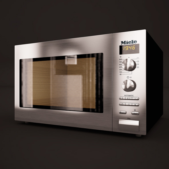 Microwave Miele - 3DOcean Item for Sale