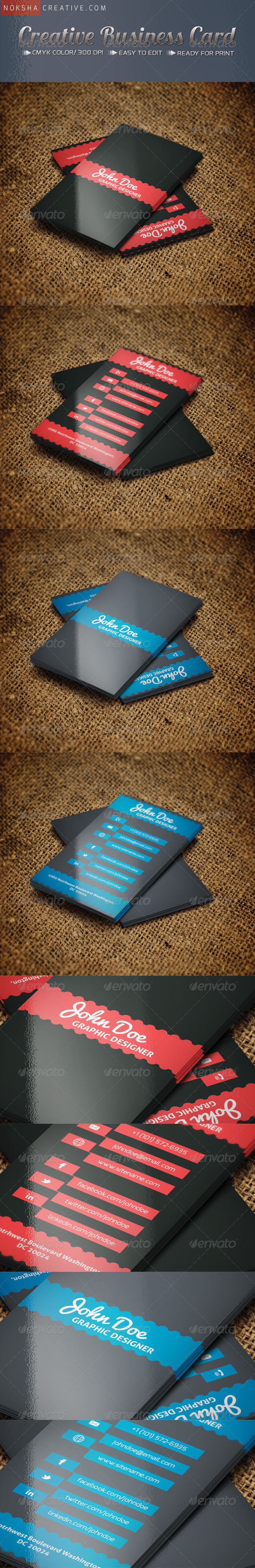 GraphicRiver Creative Business Card 5134105